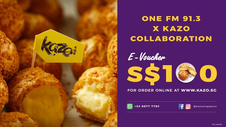 Website_KISS92 & ONE FM 91.3 x Kazo-01