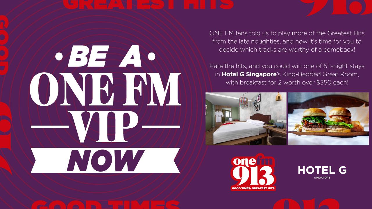 ONE FM VIP